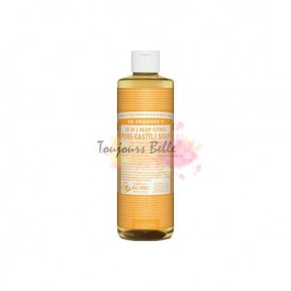 DR BRONNER'S Pure Castile Soap - Citrus Orange 475ml 美国纯卡斯蒂利亚皂(香橙)