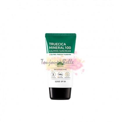 SOME BY MI Truecica Mineral 100 Calming Sun Cream 50ml SPF50+ PA++++ 净萃舒缓无机100防晒霜