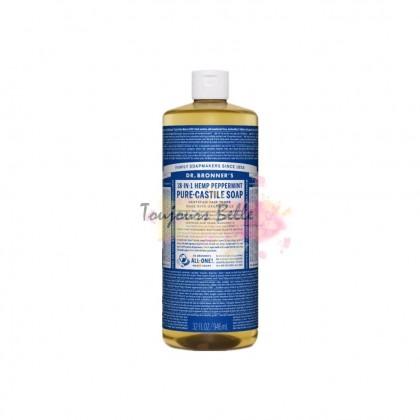 DR BRONNER'S Pure Castile Soap - Peppermint 950ml 美国纯卡斯蒂利亚皂(薄荷)