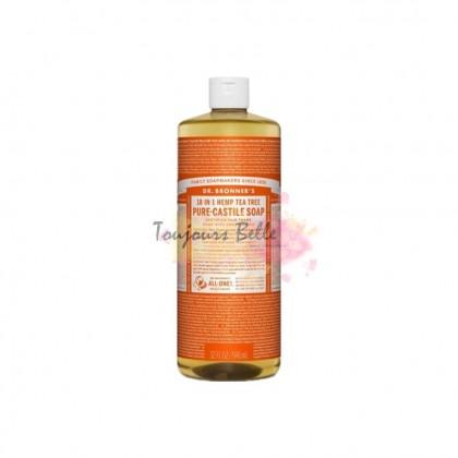 DR BRONNER'S Pure Castile Soap - Tea Tree 950ml 美国纯卡斯蒂利亚皂(茶树)