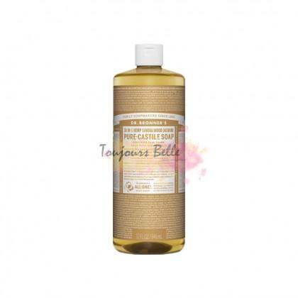 DR BRONNER'S Pure Castile Soap -Sandalwood Jasmine 950ml 美国纯卡斯蒂利亚皂(茉莉花檀)