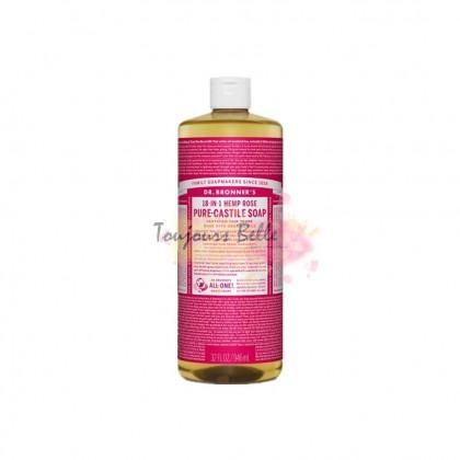 DR BRONNER'S Pure Castile Soap - Rose 950ml 美国纯卡斯蒂利亚皂(玫瑰)