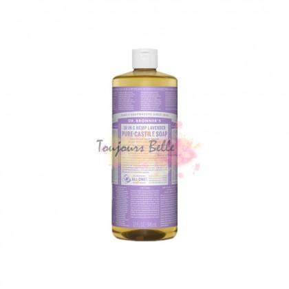 DR BRONNER'S Pure Castile Soap - Lavender 950ml 美国纯卡斯蒂利亚皂(薰衣草)