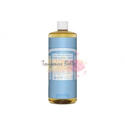 DR BRONNER'S Pure Castile Soap - Baby 950ml 美国纯卡斯蒂利亚皂(无味)