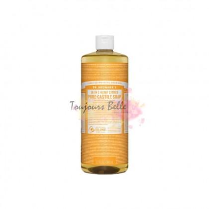 DR BRONNER'S Pure Castile Soap - Citrus Orange 950ml 美国纯卡斯蒂利亚皂(香橙)