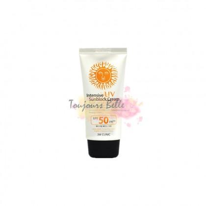 3W CLINIC Intensive UV Sun Sun Block Cream 干爽UV防晒霜 SPF50+ PA+++ 70ml