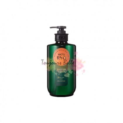 RYO Heritage Biotin Vita 8 Hair Loss Care Shampoo 吕生物素维他命洗发水 585ml