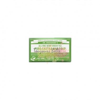 DR BRONNER'S Pure Castile Bar Soap - Green Tea 美国纯卡斯蒂利亚皂(绿茶)140g