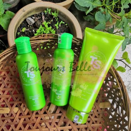 (23~29/05 Special) TS New Premium Hair Care 2+1 Trial Set 韩国TS草本防脱发2+1体验套装 (Shampoo 140g*2 + Treatment 200ml*1)
